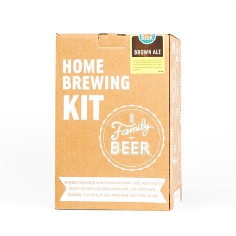 Kit cerveza artesanal Brown Ale