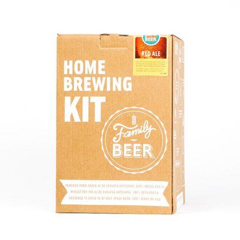 Kit cerveza casera Red Ale