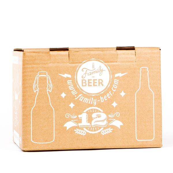 Caja de botellas