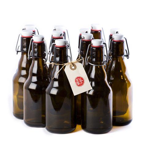 12 botellas flip top