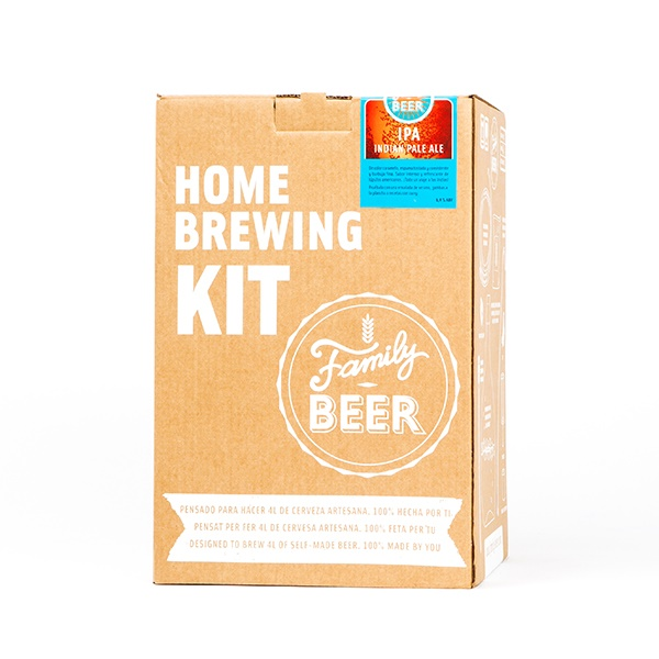 KIT PARA HACER CERVEZA IPA 4L FAMILY BEER