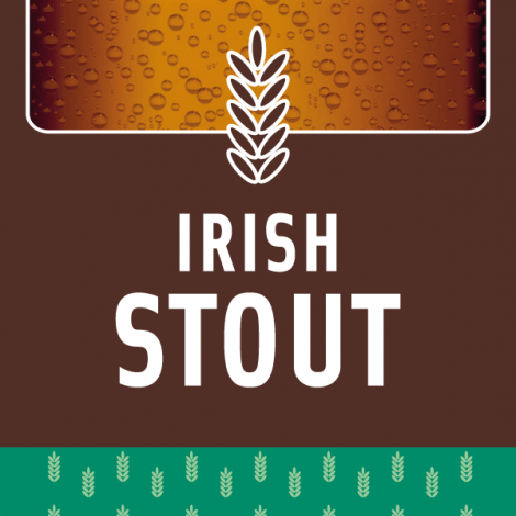 Mix Irish Stout 20l para hacer cerveza de color chocolate