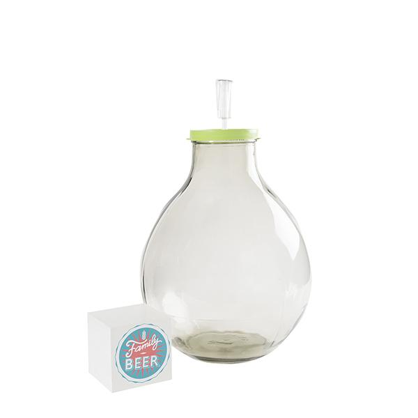 Fermentador de vidrio de 15l