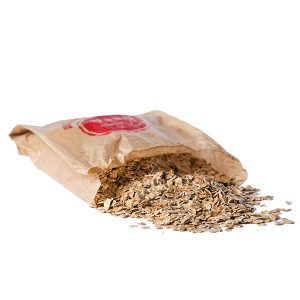 Copos de trigo para la elaboración cerveza artesana