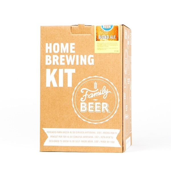 Kit cerveza artesanal Blonde Ale