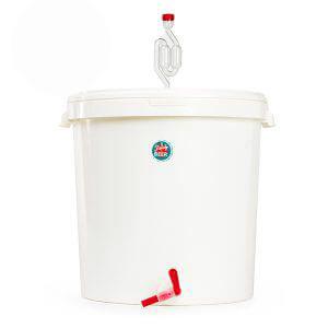 Fermentador de plástico de 5,6L con grifo y airlock