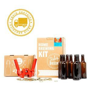 Kit cerveza artesana+chapadora+12 botellas