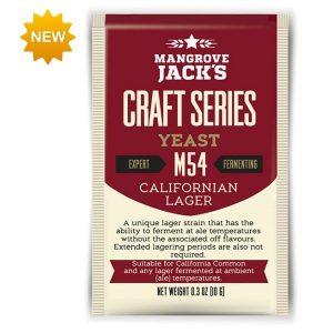 Levadura MANGROVE JACK'S M54 California lager
