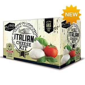 Kit para hacer queso italiano