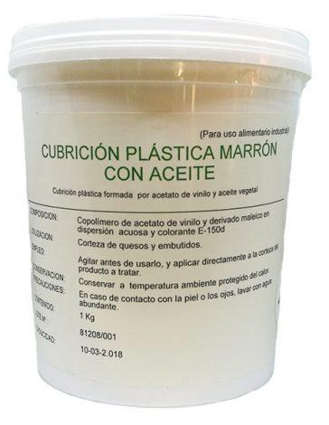 cubrición plástica marron