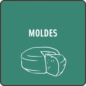 Moldes queso