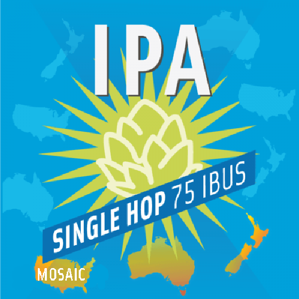 mix ipa single hop mosaic